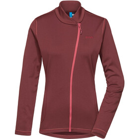 PYUA Appeal Trainingsjacke Damen mahogany red